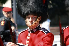 Eyes right! (stephencharlesjames) Tags: soldier army guardsman uniform bearskin royal guard governor general ottawa canada military