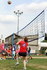 Green Volley (CarloAlessioCozzolino) Tags: cornatedadda portodadda greenvolley volley estate summer persone people ambrosiana numero number 4 four quattro asdambrosiana