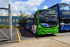Bluestar Training (PD3.) Tags: go ahead goahead group gsc south coast eastleigh hampshire england uk bus buses psv pcv barton park hants dorset trim paint repaint refurbishment refurb bluestar training trainer 2404 hf54hft hf54 hft volvo wright more