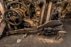 Finch Foundry K1__7548.jpg (screwdriver222) Tags: devon dartmoor pentax finchfoundry k1 nationaltrust hdpentaxdfa1530mmf28edsdmwr waterpowered sticklepath forge england unitedkingdom gb triphammer wheels belts blocks tilthammer shears gears wedges cogs