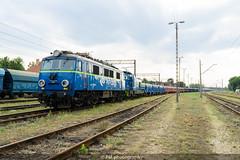 EU07-1523 (PM's photography) Tags: train trainspotting rail railroad railway pkp pkpcargo cargo freight czerwiensk eu07 eu071523 loco