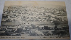 Mount Morgan from Happy Valley, Qld - circa 1900 (Aussie~mobs) Tags: vintage queensland australia happyvalley mountmorgan lundager mtmorgan view township streets houses homes residences aussiemobs