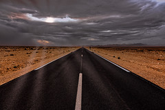 Towards the storm. (por agustinruizmorilla) Tags: storm atlas morocco marruecos