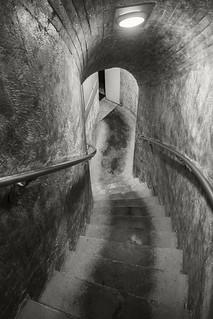 Mount Greylock War Memorial stairs