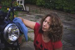 (Marci's) Tags: moto scrambler ducati icon faro