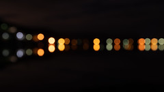 Night Lights Bokeh Lights (Merrillie) Tags: bokeh colours water reflections nighttime newsouthwales light lights nsw dark circles colors night nightscape outoffocus landscape australia