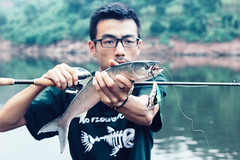 IMG_2434 (photogonia) Tags: ningyu flyfishing fly fishing lurefishing lure pesca fish tip catch carp yellowcheek xiangxi hunan huaihua cina china bait baitfishing 鳡魚