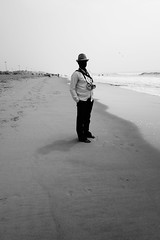 Song of the sea | Puri, Orissa 2018 (Street and fine art by Manobihangam) Tags: documentary people sea beach orissa life black white