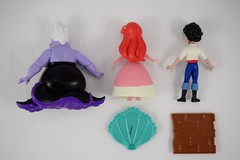 Ariel and Friends Action Figure Set - Hasbro Disney Princess Comics Collection - Target Purchase - Deboxing - Contents Laid Down - Rear View (drj1828) Tags: hasbro amymebberson poseable comic disney princess figures 5inch ariel purchase target ursula eric thelittlemermaid deboxing