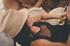 ... (ivanpilipovic) Tags: summer beach hat girl canon 40mm 1100d montenegro