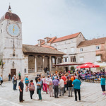 Clock tower in Trogir thumbnail
