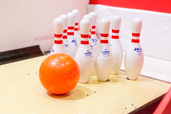 Bowling ball and pins (marcoverch) Tags: londonmarathon2018 london bowling ball pins noperson keineperson wood holz leisure freizeit indoors drinnen health gesundheit competition wettbewerb wooden hölzern food lebensmittel fun spas recreation erholung family familie table tabelle stilllife stillleben game spiel arbre nyc outside catwa harbour scotland mono plastic airbus hiking