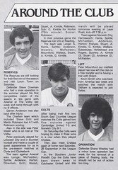Charlton Athletic vs Notts County - 1984 - Page 9 (The Sky Strikers) Tags: charlton athletic notts county the valley milk cup road wembley official matchday magazine 50p