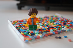 tiny button - a bunch of tiny button (omgdolls) Tags: minifigures lego buttons