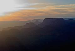 Grand Canyon Sunset (MJRodock) Tags: sunset telephoto olympus arizona navajopoint grandcanyon em1 olympusmzuikoed40150mmf28