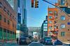Brooklyn Bridge-view from Greenpoint_tonemapped (henulyphoto) Tags: street bridge trafficlight redlight road architecture brooklyn nikon d5200