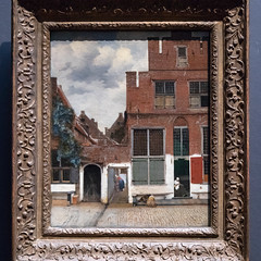 View of Houses in Delft, Known as The Little Street | Johannes Vermeer | c.1658 | The Rijksmuseum-37 (Paul Dykes) Tags: rijksmuseum museumofthenetherlands art gallery museum amsterdam netherlands nl holland viewofhousesindelft thelittlestreet johannesvermeer 1658