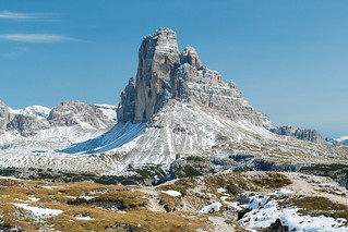 Tre Cime from the West