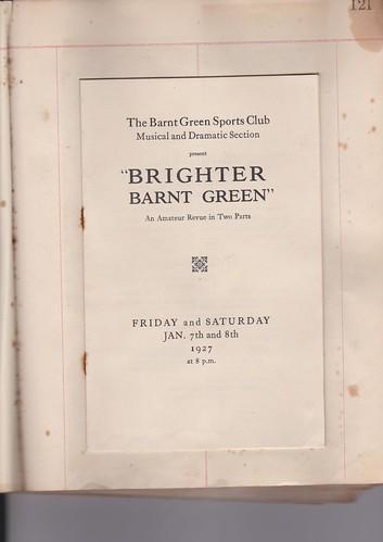 1927: Jan Programme 1
