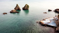 Vietri (uffagiainuso) Tags: seascape seashore serenity landscape dreamscapes sea paysage paesaggio blusea rock