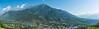 Panorama Algund mit texelgruppe (Kitschi_) Tags: nikon art sigma etschtal panorama 1835 burggrafenamt summer 2017 d7100 algund f18 altoadige südtirol landschaft southtyrol landscape sommer marlingerwaal