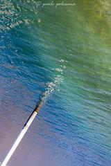 Impressions -8 (Paolo Polesana) Tags: colors water sea lake pole green purple blue abstract