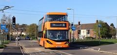 445 (timothyr673) Tags: nct nctroute36 nottinghamcitytransport nottingham bus scania orange orangeline orangeline36 e400city e400 enviro400 enviro400city n280ud gas cng alexanderdennis adl dennis alexander