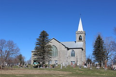 St Andrew's United Church and Cemetery Martintown, Ontario Built as Presbyterian in 1910 (pegase1972) Tags: ontario on martintown canada church église