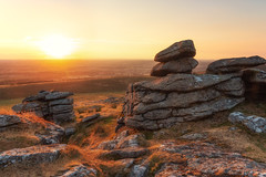Arm Tor Sunset (Rich Walker75) Tags: dartmoor devon landscape landscapes landscapephotography nature countryside westcountry england uk tor tors rocks rock sunset sky sun evening landmark landmarks canon efs1585mmisusm eos80d eos