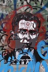 . (just.Luc) Tags: graffiti grafitti streetart urbanart ezbai man male homme hombre uomo mann portret portrait ritratto retrato porträt face gezicht visage gesicht utrecht holland nederland paysbas niederlande netherlands europa europe