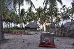 Beach camp in Cabo Delgado