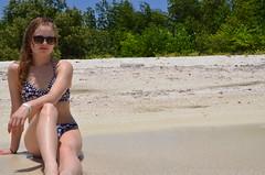Cayo Blanco (frédérikeclermont) Tags: cuba vacations island sea oceans carabbean manzanillo marea mar blue flowers portraits sun playa beach plage nature swimwear