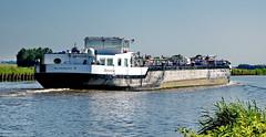 Christina auf dem Eemskanal (antje whv) Tags: holland niederlande netherlands eemskanal kanal schiffe ships lastkahn binnenschiff