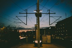 Urban Infrastructure (mripp) Tags: art vintage street railway berlin infrastructure sunset nightfall urban city stadt mitte sony alpha 7rii voigtländer nokton 40mm f12