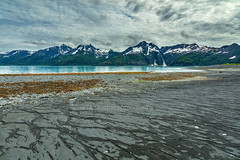 Tidal Pull (chasingthelight10) Tags: events photography travel landscapes glacialvalley glaciers beaches mountains nature ocean places alaska aialikbay kenaifjordsnationalpark kenaipeninsula otherkeywords inlet