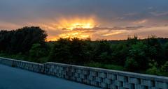 Sky on fire (Dave_Bradley) Tags: sunset skyporn olympus outdoor em5 sun clouds pennsylvania usa