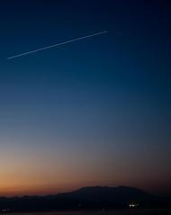 ISS over Corinthian Gulf (maglaras) Tags: iss international space station fujifilm xt10 fujinon greece hellas corinthian gulf