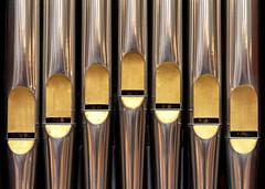 Organ Pipes (R. Engelsman) Tags: pelgrimvaderskerk orgel pilgrimfatherschurch organ pipes church delfshaven rotterdam netherlands nl