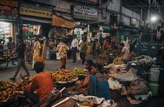 Kolkata 06:30 PM (Safayet Daniel) Tags: kolkata street mg road fruit seller