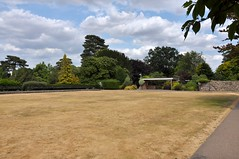 Abbey Gardens Bowling Green (Martin Pettitt) Tags: 2018 abbeygardens bowlinggreen burystedmunds driedgrass dslr hotweather july nikond90 norain suffolk summer uk