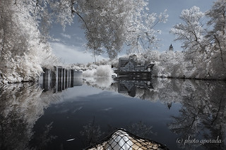 Infrared Reflections at the Weir