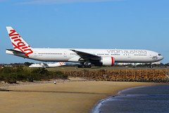 VH-VPD, Sydney, September 9th 2014 (Southsea_Matt) Tags: vhvpd virginaustralia boeing 7773zger sydney kingsfordsmith yssy syd mascot newsouthwales australia september 2014 spring canon 60d sigma 70200mm passengertravel publictransport plane airplane aeroplane aircraft airliner vehicle avalonbeach