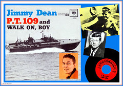 Jimmy Dean - P.T. 109 (StarRunn) Tags: jimmydean pt109 columbiarecords music song record 45 45rpm jfk johnfkennedy ptboat wwii worldwarii recordsleeve