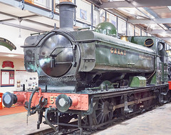 GWR Pannier Tank No 5764 at Highley Museum, SVR (simage61) Tags: transportation railway heritage svr locomotive steam gwr 060pt panniertank 57xxclass 5764 highley shropshire englandcentral