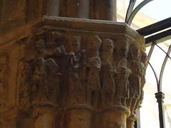 Catedral - Capitel en el claustro 3 (albTotxo) Tags: tortosa tarragona cataluña españa