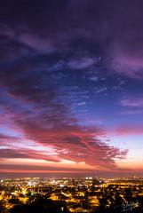 Reddish Residual after Sunset (Astro☆GuiGeek) Tags: sun sunset sky skyatnight skyscape skyinchile dusk clouds cloudsstormssunsetssunrises chile laserena coquimbo soleil ciel coucherdesoleil crépuscule astroguigeek venus vénus canonphotography canoneos700d