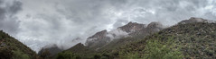 sabino-1-29 (melaniemarie83) Tags: sabino canyon tucson arizona desert mountains saguaro clouds overcast panorama