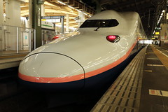 E4 Series Shinkansen (Teruhide Tomori) Tags: 新幹線 上越新幹線 maxとき 高速鉄道 新潟駅 電車 列車 e4系 日本 japan japon joetsushinkansen superexpress bullettrain e4series jr japanrailway toki jr東日本 railway railroad train niigata