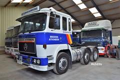 DSC_0038 (richellis1978) Tags: m edwards transport shrewsbury truck lorry haulage seddon atkinson 400 401 b672dhr cummins e320