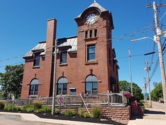 Day 3 - Tignish Historic Building (Bobcatnorth) Tags: princeedwardisland canada summer 2018 pei cycling bicycle touring bicycletouring camping sightseeing